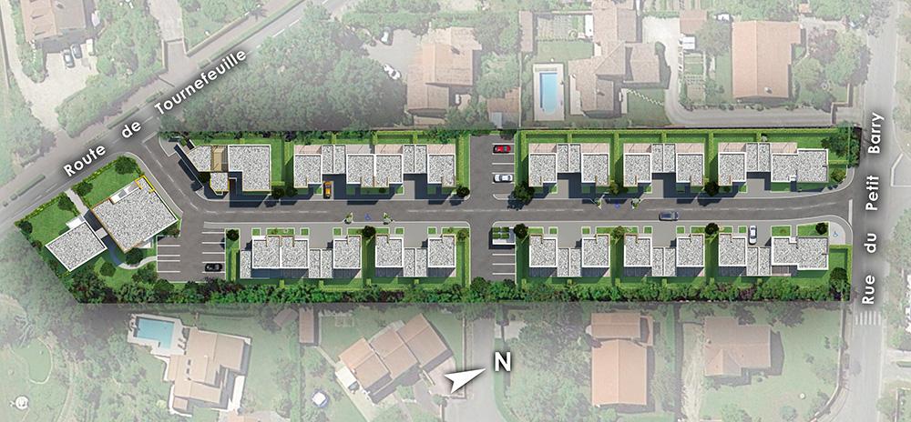 D4 commercialisation for Architecture petite villa